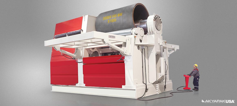 AHS 30-150 4 Roll Plate Rolls