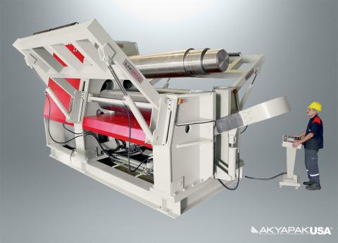 plate rolls machine