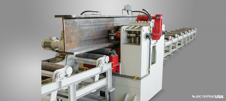 BPS H Beam Straightening Machine – AKYAPAK USA